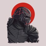 Star Wars - Episode IX - Kylo Cracked Mask T-Shirt - XL - Packshot 2