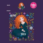 Disney - Brave - Merida T-Shirt - XXL - Packshot 2