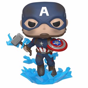 Marvel - Avengers: Endgame Captain America with Mjolnir Pop! Vinyl Figure