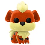 Pokemon - Growlithe Flocked NYCC2020 Pop! Vinyl Figure - Packshot 1