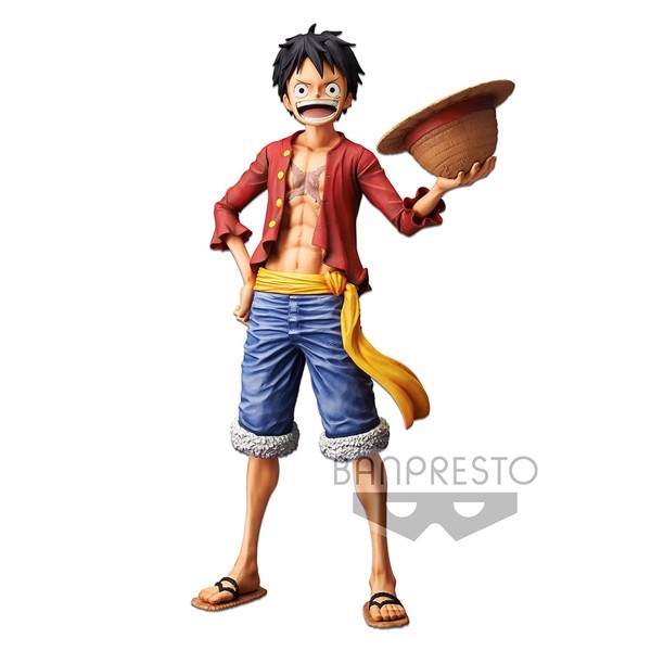 One Piece - Monkey D. Luffy  28 cm Grandista Nero Figure - Packshot 1