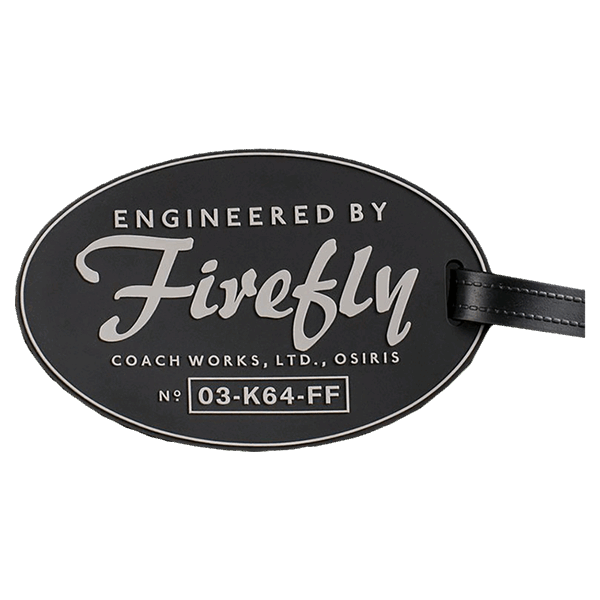 Firefly - Engineered by Firefly Q-Tag Baggage Tag - Packshot 1