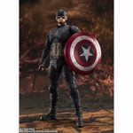 Marvel - Avengers: End Game - Captain America S.H.FIGUARTS Final Battle Edition Figure - Packshot 2