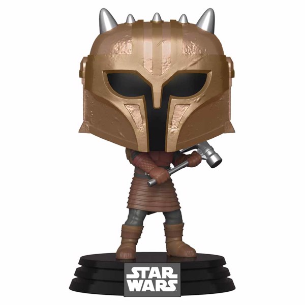 Star Wars - The Mandalorian - The Armorer Metallic Pop! Vinyl Figure - Packshot 1