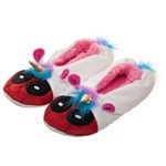 Marvel - Deadpool Unicorn Slippers Large/Extra Large - Packshot 1