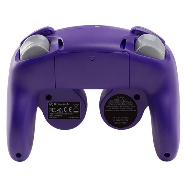 Nintendo Switch PowerA Wireless Gamecube Controller - Purple - Packshot 4