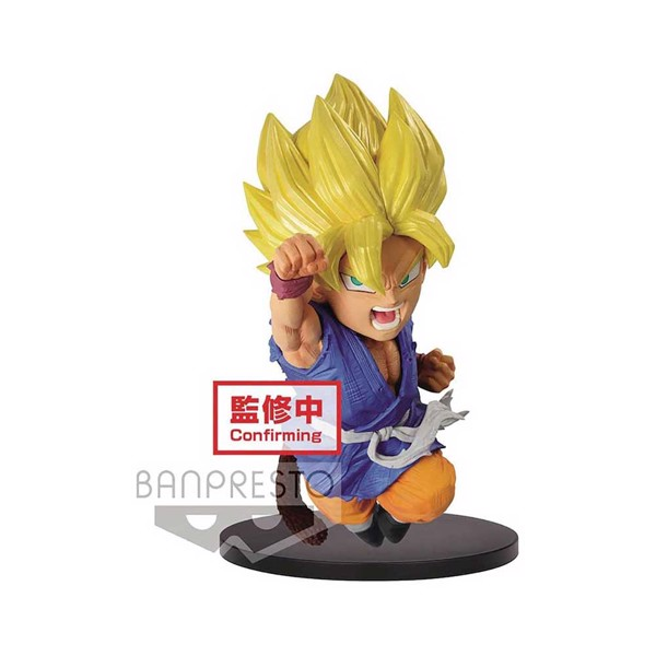 Dragon Ball GT - Wrath of The Dragon - Super Saiyan Son Gokou 13cm PVC Statue - Packshot 1