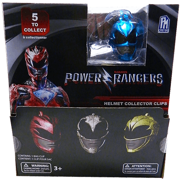 Mighty Morphin' Power Rangers - Helmet Hangers Blind Bag (Single Pack) - Packshot 1