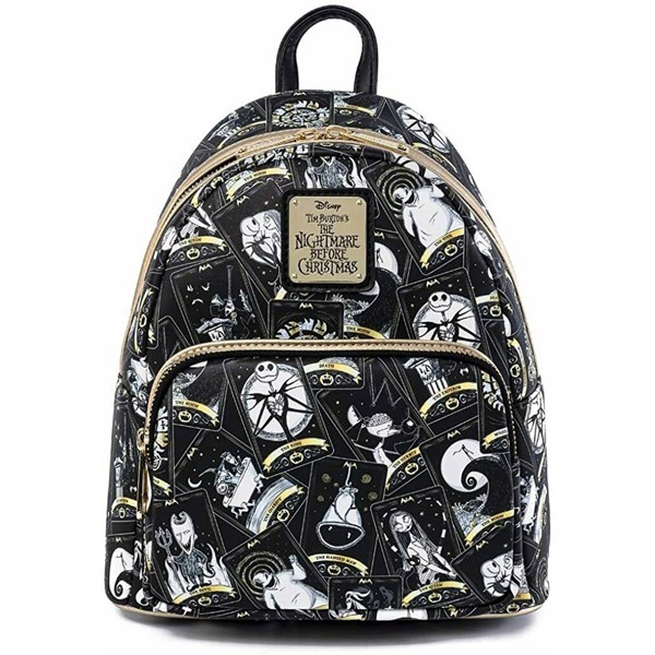 Nightmare Before Christmas - Halloween Town Tarot Loungefly Mini Backpack - Packshot 1