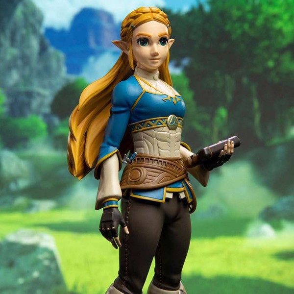 "The Legend of Zelda: Breath of the Wild - Zelda 10"" PVC Painted Statue Standard Edition - Packshot 5"