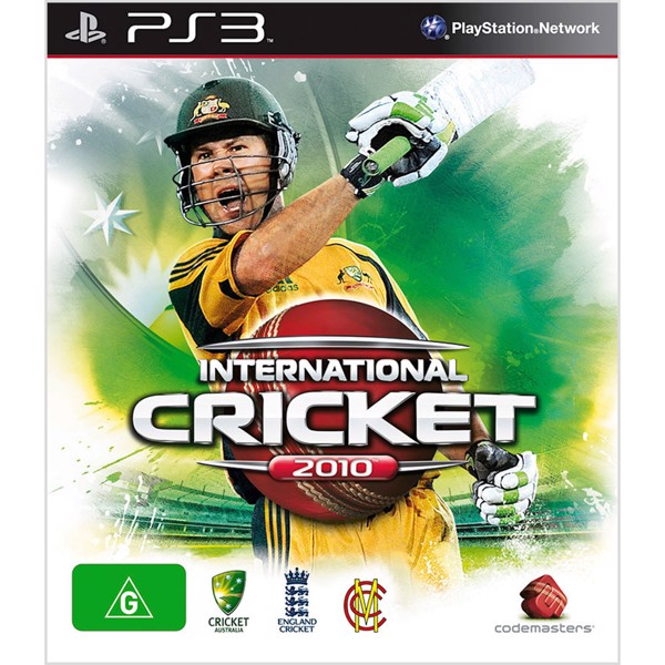 International Cricket 2010 - Packshot 1
