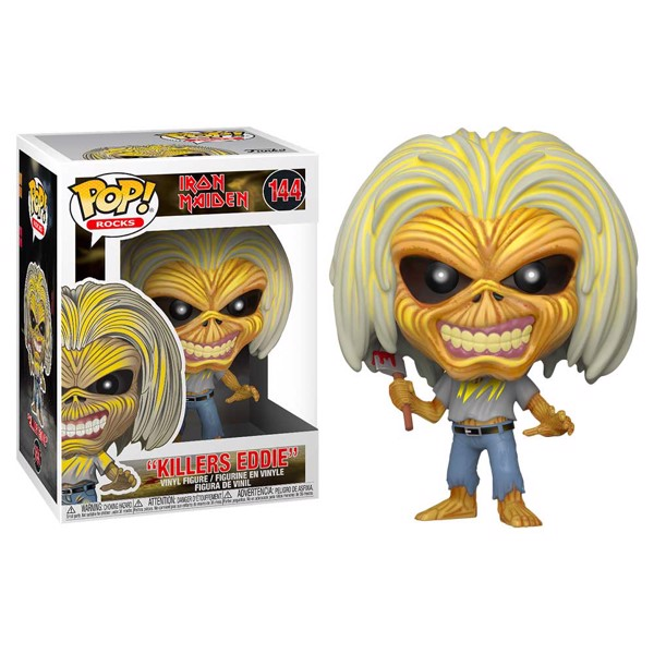 Iron Maiden - Killers Eddie Pop! Vinyl Figure - Packshot 1