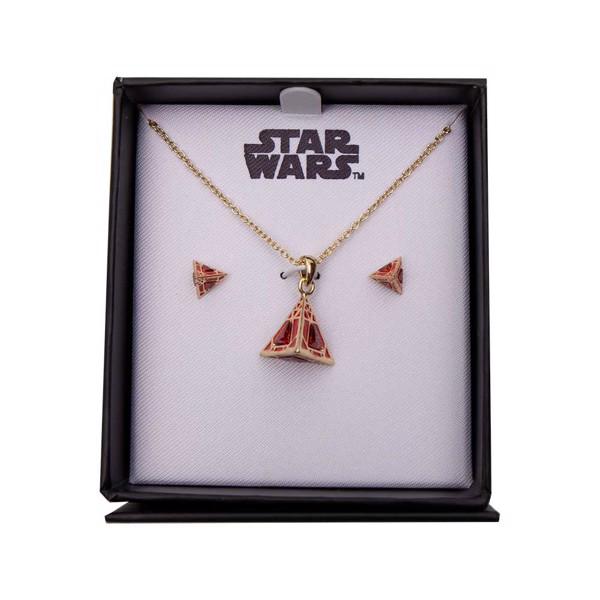 Star Wars - Sith Holocron Necklace and Earring set - Packshot 1