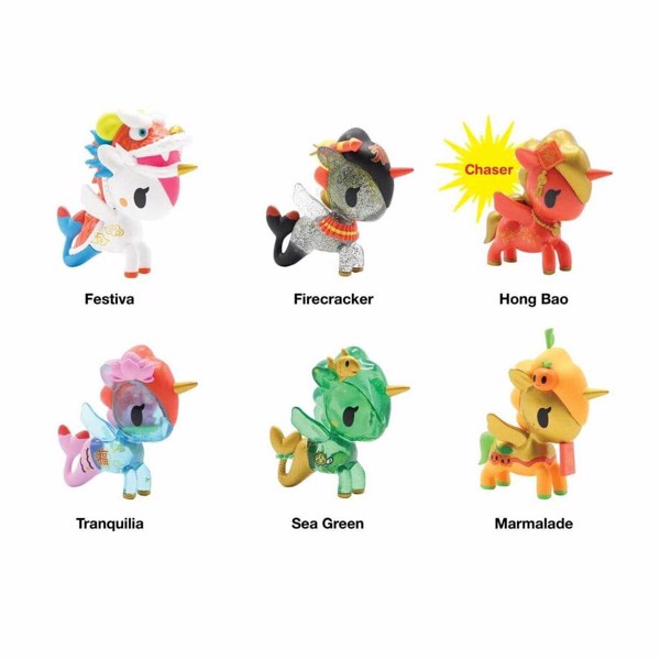 Tokidoki - Chinese New Year 2020 Unicorno & Mermicorno Blind Box - Packshot 2
