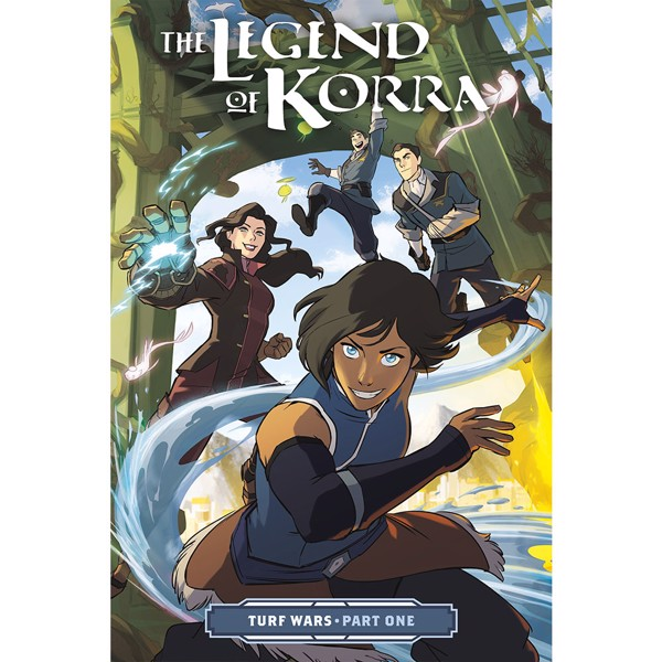 The Legend Of Korra - Turf Wars Part One Graphic Novel - Packshot 1