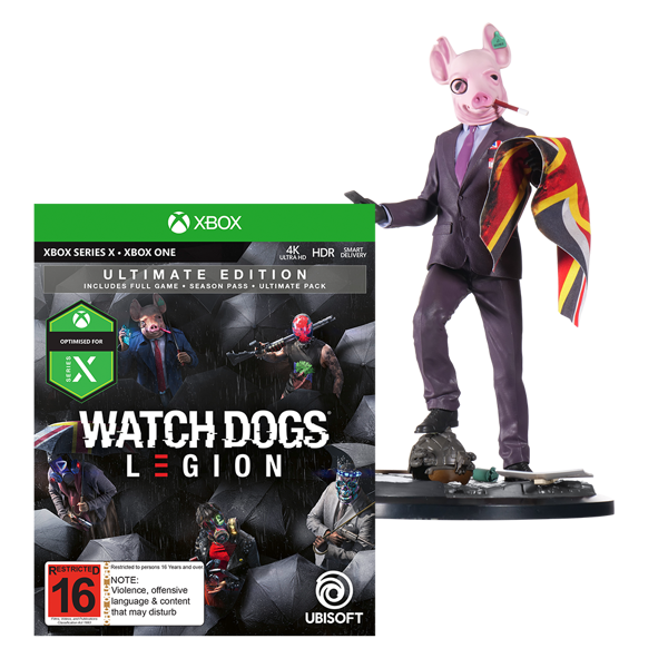 Watch Dogs: Legion Ultimate Edition + The Resistant of London Figurine - Packshot 1