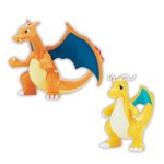 Pokemon - Charizard and Dragonite DIY Kit Figures - Packshot 2