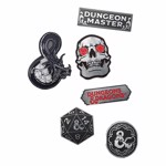 Dungeons & Dragons - Metal Icons Pin Set of 6 - Packshot 1