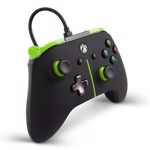 Power A - Xbox One - Enhanced Wired Controller - Green Stripe - Packshot 3