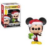 Disney - 90th Anniversary Holiday Mickey Pop! Vinyl Figure - Packshot 1