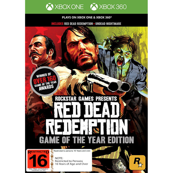 Red Dead Redemption: Game of the Year Edition - Packshot 1