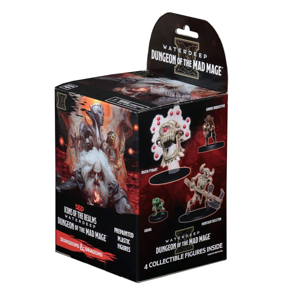 Dungeons & Dragons - Waterdeep: Dungeon of the Mad Mage Figure 4-Pack Blind Box (Single Box) - Packshot 3