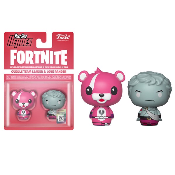 Fortnite - Cuddle Team Leader & Love Ranger Pint-Sized Heroes 2-Pack Figure - Packshot 1