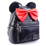 Disney - Minnie Mouse Black Loungefly Backpack - Packshot 2
