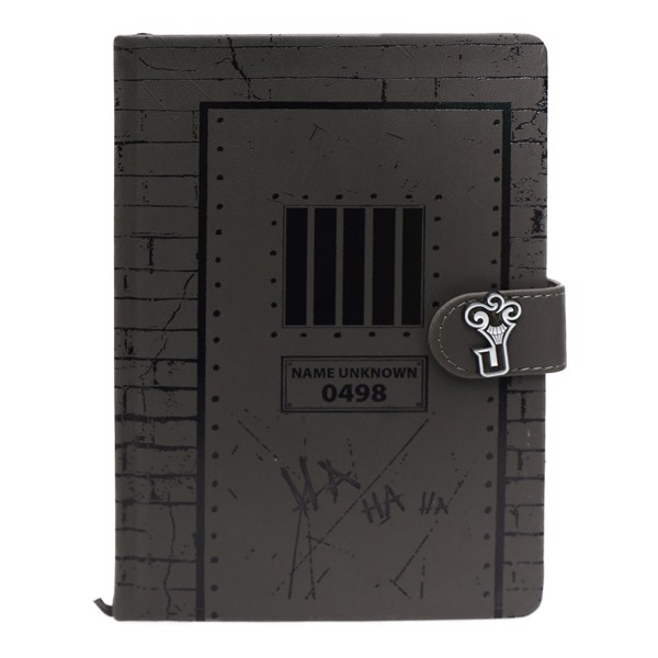 DC Comics - The Joker Asylum Cell Premium A5 Notebook - Packshot 1