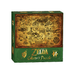The Legend of Zelda - Hyrule Map Jigsaw Puzzle - Packshot 1
