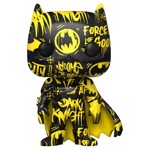 DC Comics - Batman Artist Yellow & Black Pop! Vinyl Figure - Packshot 1