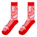 Marvel - Logo Reg Socks - Packshot 1