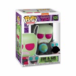 Invader ZIM - ZIM with GIR Pop! Vinyl Figure - Packshot 2