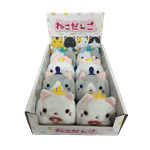 "Neko Atsume - Dango Mat 3"" Plush Series 1 Assorted - Packshot 1"