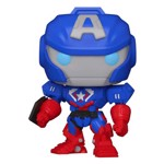 Marvel - Avengers Captain America - Mech Strike Glow Pop! Vinyl Figure - Packshot 1