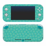 Nintendo Switch Animal Crossing: New Horizons Teal Leaves Lite Skin - Packshot 1