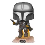 Star Wars - Flying Mandalorian with Blaster Glow Pop! Vinyl Figure - Packshot 1