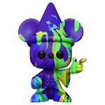 Disney - Fantasia Sorcerer's Apprentice Mickey Artist Purple & Green Pop! Vinyl Figure - Packshot 1