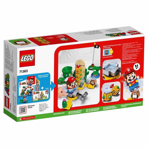 LEGO Super Mario Desert Pokey Expansion Set - Packshot 3