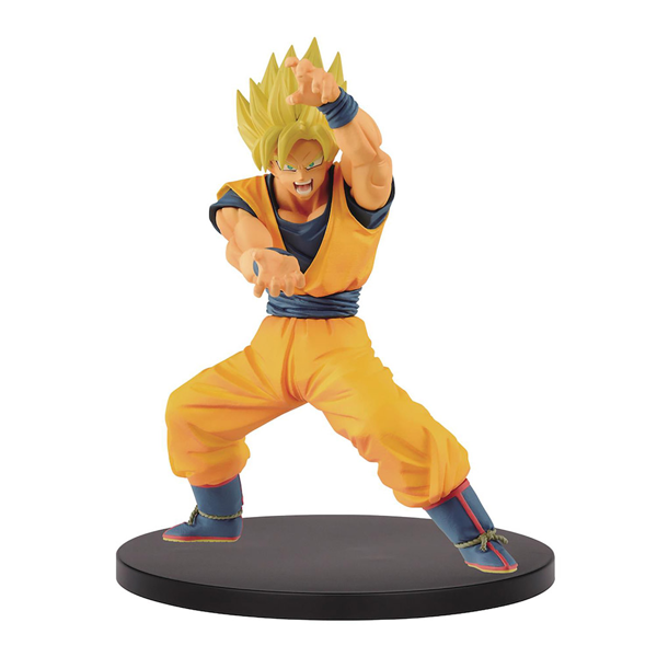 Dragon Ball - Super Saiyan Goku Chosenshi Retsuden Figure - Packshot 1