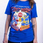 Marvel - Marvel 80th Anniversary - Marvel Fight Night Blue T-Shirt - XXL - Packshot 4