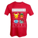 Pokemon - Christmas Starters T-Shirt - XXL - Packshot 1