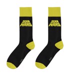 Star Wars - The Empire Strikes Back - 40th Anniversary Black and Yellow Socks - Packshot 1