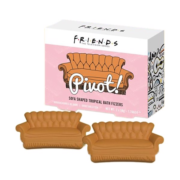 Friends - Central Perk Sofa Fizzler - Packshot 1