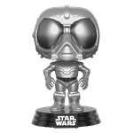 Star Wars - Rogue One - Death Star Droid Chrome NYCC17 Pop! Vinyl Figure - Packshot 2