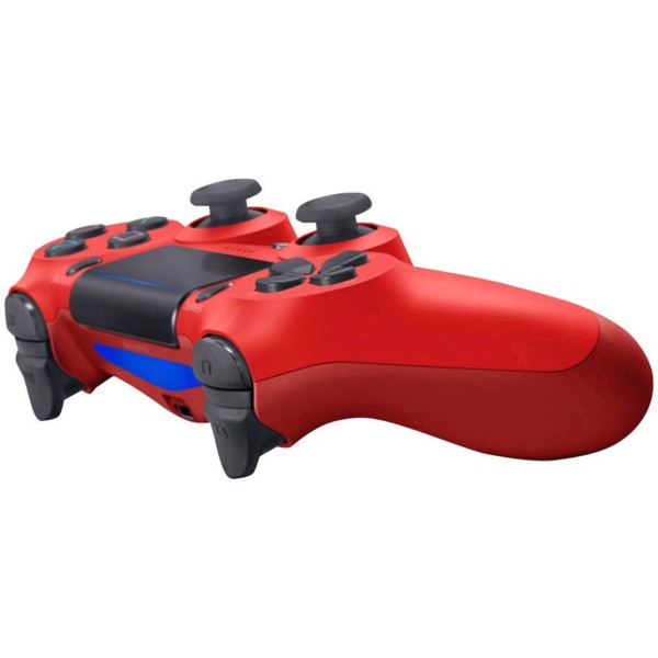New PlayStation 4 DualShock 4 Wireless Controller - Magma Red - Packshot 3