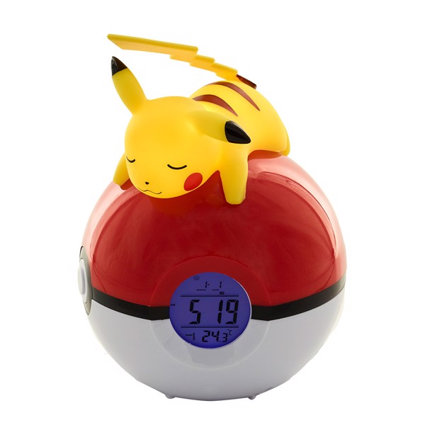Pokemon - Pikachu Alarm Clock & Lamp - Packshot 2