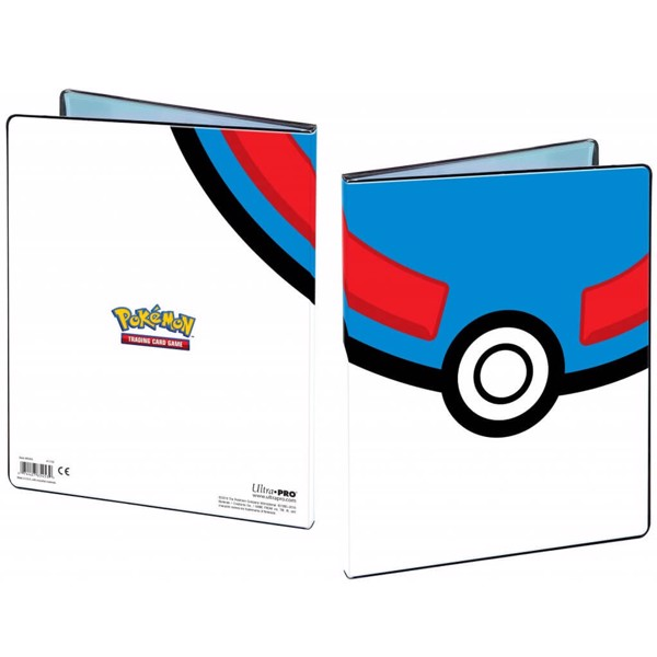 Pokemon - Portfolio - 4PKT Great Ball ULTRA PRO Portfolio - Packshot 1
