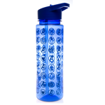 Marvel - Avengers: Endgame - Avengers Cosmic Symbol Blue Water Bottle - Packshot 1