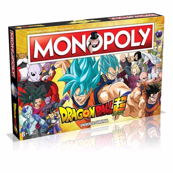Dragon Ball Super Monopoly Board Game - Packshot 1